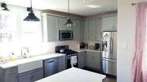 gray countertops with white cabinets gray cabinets with white countertops vanessadore com