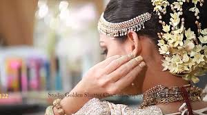 srilankan hairstyle srilankan brides by chi siriwardana youtube