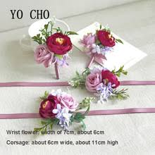 bridesmaid corsage popular wrist corsage bracelets supplies buy cheap wrist corsage