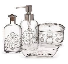 bathroom accessories set stylish white ceramic bathroom