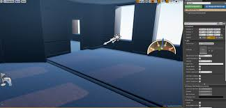 skylight issue blowing out the lighting indoor scene ue4