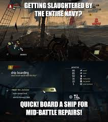 Black Flag Members My Favourite Naval Battle Logic In Assassins Creed 4 Black Flag