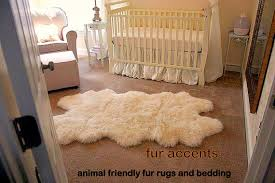 White Fur Area Rug The Best Of Endearing Faux Fur Area Rug With Rugs Home