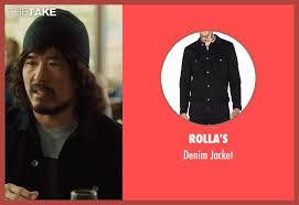randall park rolla u0027s denim jacket from snatched thetake