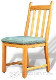 Dining Chair Plans Dining Room Chair Plans U2022 Woodarchivist