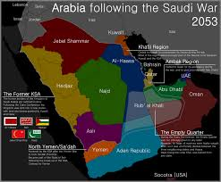 A Map Of The States by Map Of Arabia By Martin23230 On Deviantart
