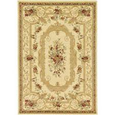 7x10 Rugs 7 X 10 Cream Area Rugs Rugs The Home Depot