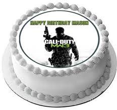 call of duty cake topper call of duty 2 edible cake and cupcake topper edible prints on
