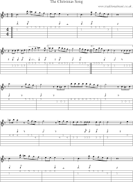 common session tunes scores and tabs for guitar the christmas song