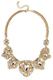 rhinestone statement necklace images Lovely gold necklace rhinestone necklace statement necklace jpg