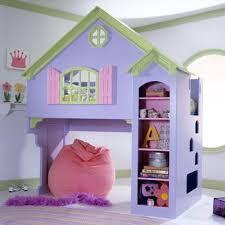 briar rose dollhouse loft bed with bookcase panels gotofurniture