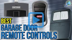 Overhead Door Transmitter by Top 6 Garage Door Remote Controls Of 2017 Video Review