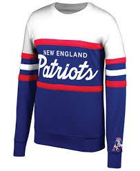 patriots sweater mitchell ness s patriots coach crew