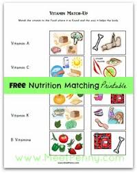 9 more free printables to teach healthy eating healthy food