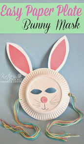 easy paper plate bunny craft bunny crafts easter crafts and easter