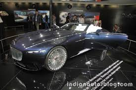 maybach 6 interior vision mercedes maybach 6 cabriolet showcased at the iaa 2017 live