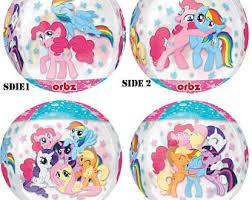 my pony balloons pony balloons etsy