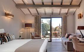 hotel chambre avec terrasse chambre chambre avec poutres apparentes prestige avec terrasse