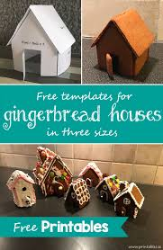 template for gingerbread house 4