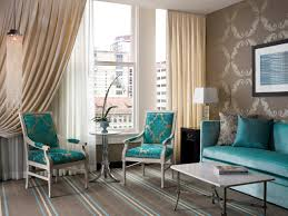 Blue Accent Chairs For Living Room by Turquoise Living Room Decor Engaging Ideas Brown Sofas Attractive