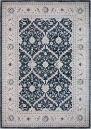 home dynamix area rugs antiqua rug 7707 724 dark blue cream