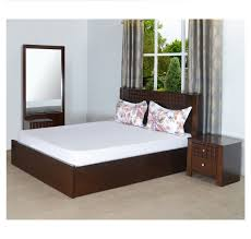 Nilkamal Bedroom Furniture Buy Rivera King Bedroom Set Home By Nilkamal Walnut