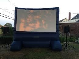 hire long island backyard movie outdoor movie screens in merrick