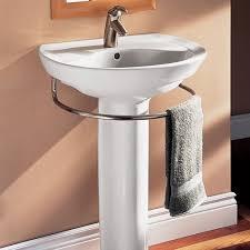 cost of pedestal sink pedestal sink towel bar awesome for wayfair 1 fernandotrujillo com