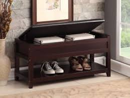 shoe store bench seat entryway bench ebay