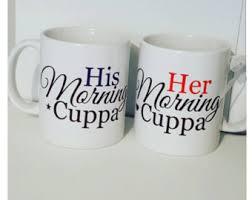 his and mug pair of mugs etsy