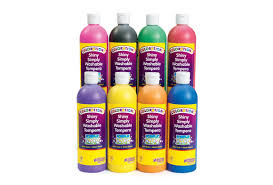 colorations simply shiny washable tempera paint