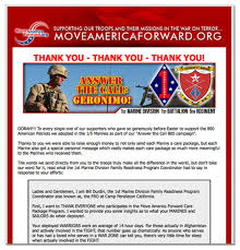 charity donation letter thank you the pro troop charity that s using donor money to support the russo is better known for helping to form the our country deserves better pac also known as the tea party express one of the largest tea party groups in