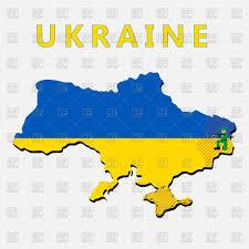 Map Ukraine Dotted Ukrainian Map With Crimea Vector Image 62864 U2013 Rfclipart