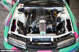 mitsubishi 3000gt engine bay horsepower wars the engine bays of formula drift 2015 speedhunters