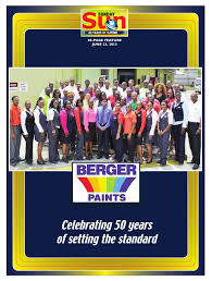 berger paints 50th anniversary by nation publishing co limited