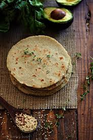 Brown Rice Flower - quinoa and brown rice flour tortillas