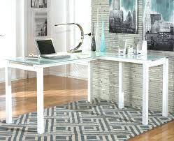 Glass L Shaped Desk Office Depot L Glass Desk L Shaped Glass Desk Glass Computer Desk L Shaped