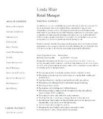 retail manager resume retail district manager resume retail management resume template