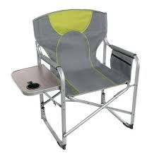 Tall Director Chairs Side Table Kmart Camping Chairs With Side Table Folding Camp