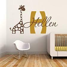 Personalized Nursery Wall Decals Cheap Wall Vinyl Giraffe Find Wall Vinyl Giraffe Deals On Line At