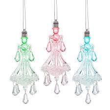 chandelier lighted 3 piece ornament set cyber monday deals