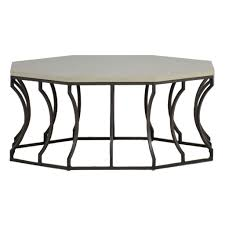 travertine top coffee table summer classics audrey coffee table with charcoal base and