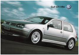 brazil volkswagen thesamba com vw archives 2004 vw golf gti vr6 sales brochure