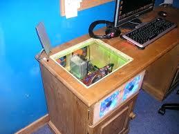 Computer Desk Built In Built In Computer Desk Bethebridge Co