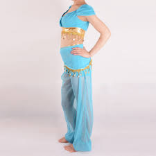 Princess Jasmine Halloween Costume Women Aliexpress Buy Princess Jasmine Costume Adults Aladdin U0027s
