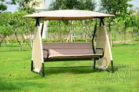 Garden Swing Seats Outdoor Furniture by Replacement Cushions Canopy For Swing Garden Hammock