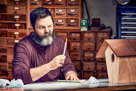 nick offerman is the world u0027s funniest woodworker