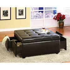 Kinfine Storage Ottoman Furniture Elegant Coffee Table Design Ideas With Square Storage