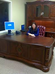 Female Executive Office Furniture Super Agent Deborah Wolfgram State Farm Insurance