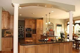 Kitchen Cabinet Restaining by Restaining Oak Kitchen Cabinets Before And After Kitchen